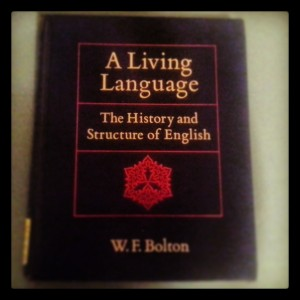 history and structure of english book