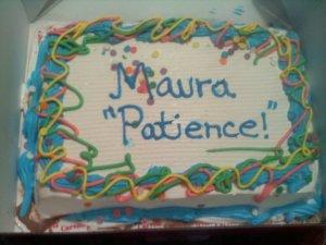 Patience cake