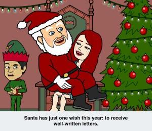 bitstrips santa