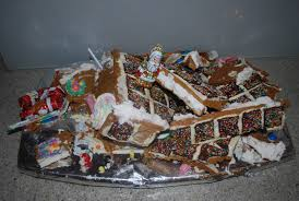 gingerbread house -- BROKEN