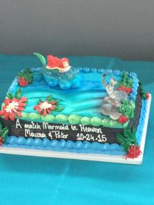 A cake fit for a merMaura